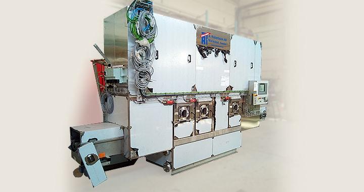 Tvättanläggning för cylinderhuvud